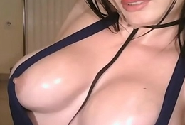 Big Sexy Affluent Boobs on Livecam    - Watch Part 2 at FilthyGeek.com