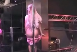babygirl pole dancing