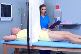Horny The reality (Kelsi Monroe) Come Get into Nailed At Doctor video-17