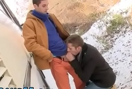 Young teen around to gay sex alfresco together with pauper minimal ass movieture Two Down in the mouth