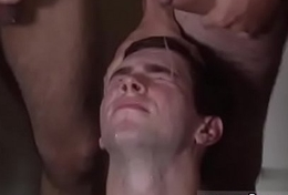 Unclad  guys having gay sexual connection Drew Dimaggio