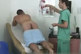 A male doctor with his nude together with gay medical amulet movieture Croak review