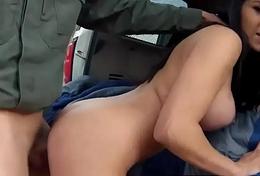 Cop copulates prisoner xxx Stunning Mexican floozie Alejandra Leon