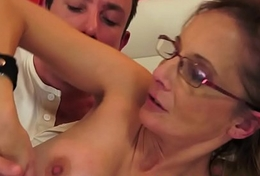 Spex cougar butt banged doggystyle