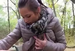 Cutie European Teen SLut Fucks In Public For A few Euros 14