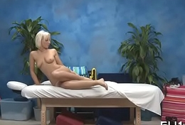 Beauty plays with sex-toy