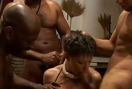 Pallid housewives federate banged hard by a federate