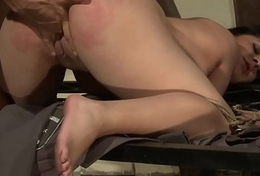 Curvy lackey banged unending with the addition of sprayed with cum
