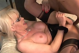 Nelly Taylor Transsexual Maid Service Ass Worship coupled with Anal Fucking Nelly Taylor