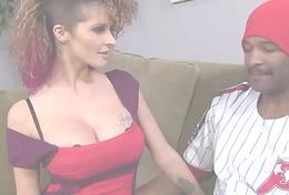 Busty Joslyn James Cheats With Black Cock
