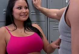Brazzers - Big Tits Nigh Sports -  Creel Whore scene starring Sophia Lomeli &amp_ Johnny Sins